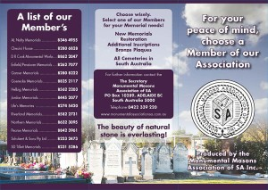 Choosing a Member of The Monumental Masons Association of South Australia, Adelaide